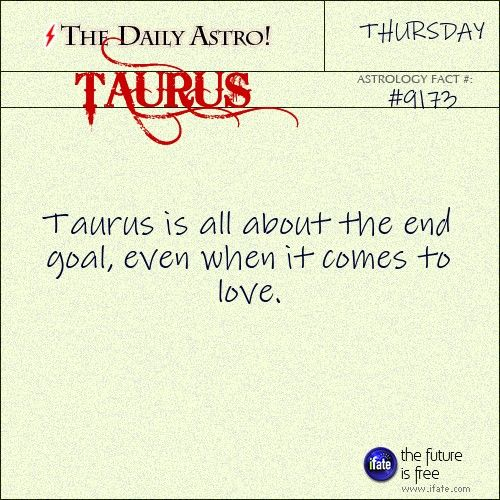 Taurus Daily Astro!: This is a great (free!) online tarot reading.  Visit iFate.com today!