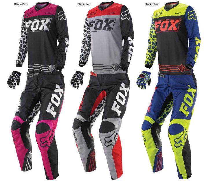 2014 Fox Women's HC/180 Jerseys, Pants, and Gloves