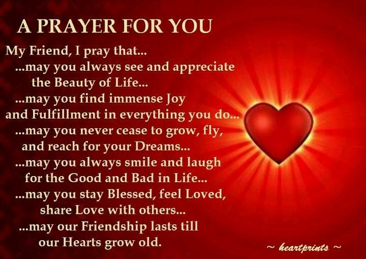 Prayer for a friend