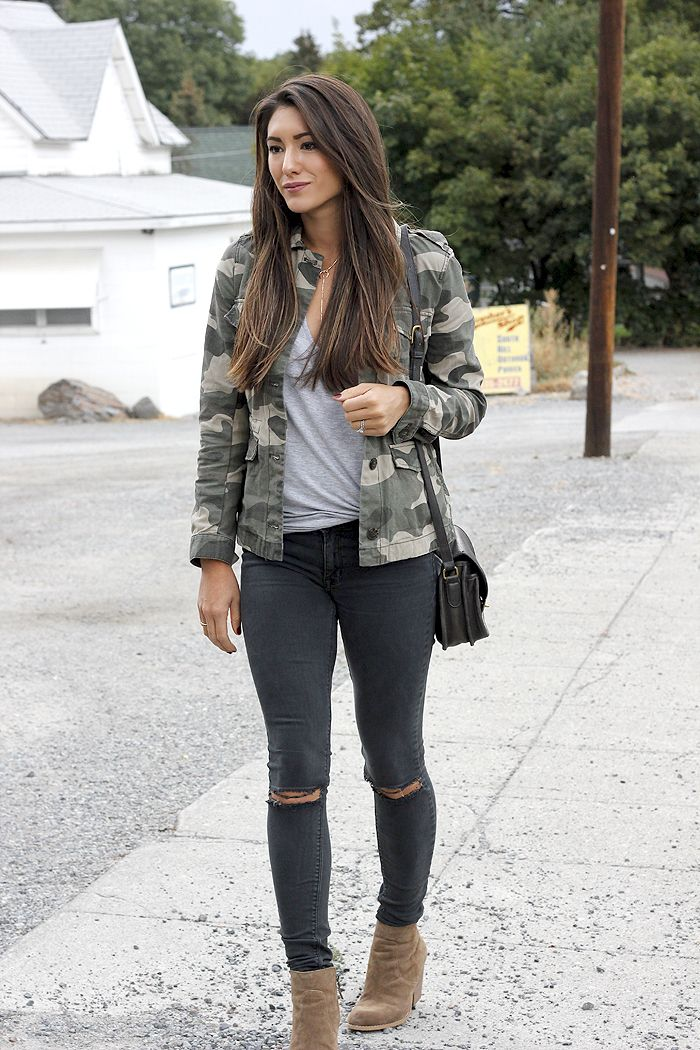 Best 25  Camo jacket outfits ideas on Pinterest | Camo jacket ...