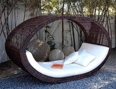 perfect outdoor furniture !