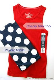 While They Snooze: Easy Tank Top Dress -VERY CUTE for agb and mommy