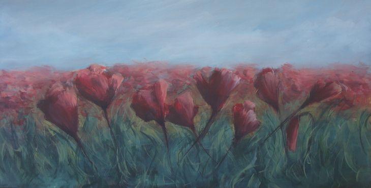 Acrylics on canvas 100x50cm