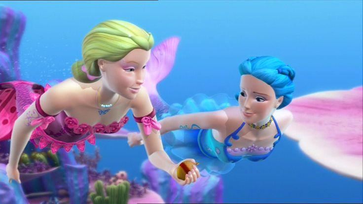 Mermaidia Nori And Elina Barbie Pinterest Barbie Movies