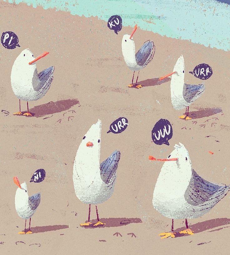 Seagulls!! on Behance