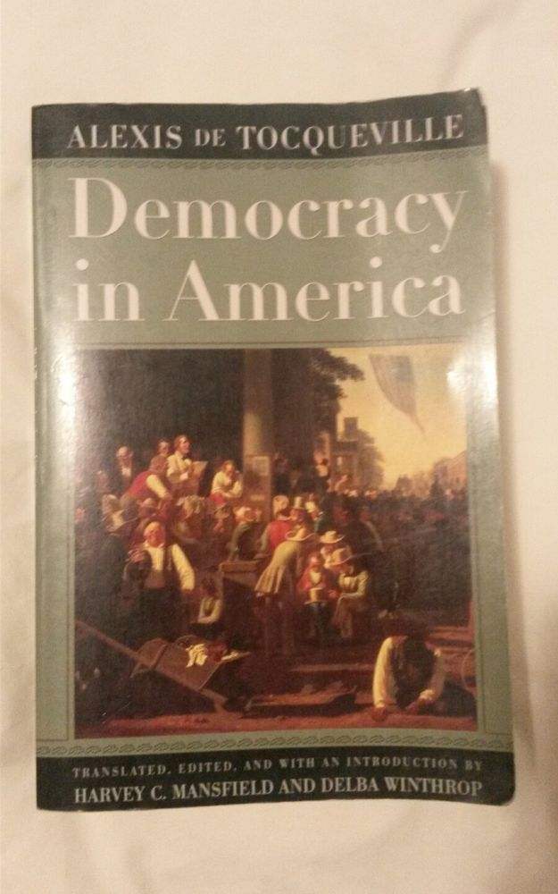 Democracy in America by Alexis De Tocqueville 2002 | Books, Textbooks, Education | eBay!