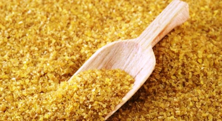 Bulgur may help with weight loss. A cup of bulgur has 8 calories, less fat, and more than twice the fiber of brown rice.