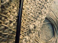 Fare una borsa in lana a crochet – Is laura