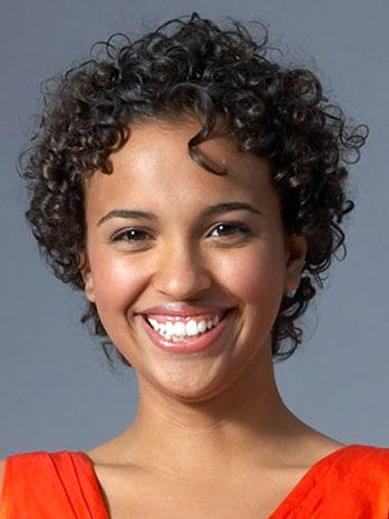 short hairstyles for black women with curly hair short