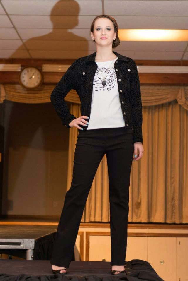 "SMTM Model ""Kristen.W"" @ the Let Them Shine Fashion Show 2013"