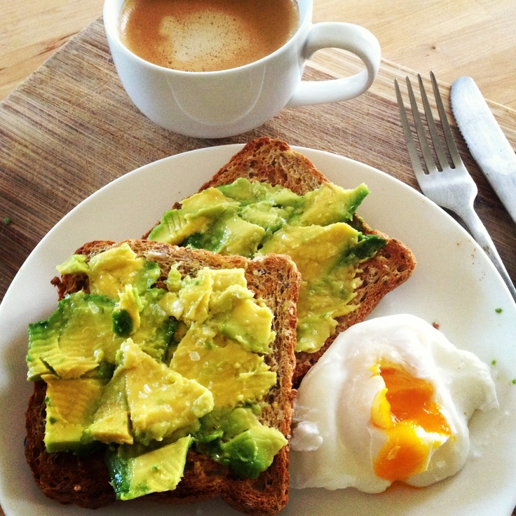 Oh yum! @Michelle Flynn Flynn Bridges Avocado on Toast with a Poached Egg - amazing!