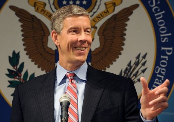 Arne Duncan's reaction to new research slamming teacher evaluation method he favors