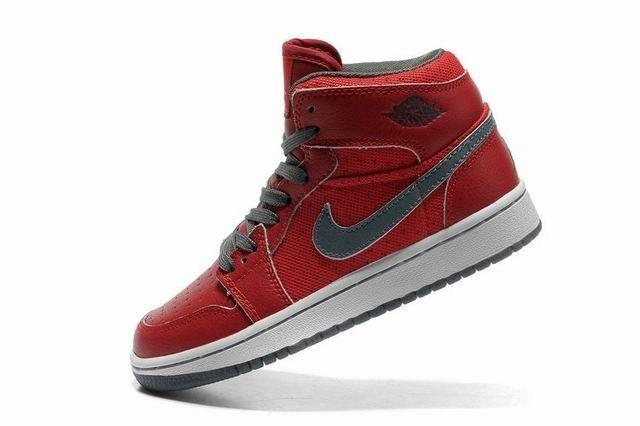old Nike Jordans   Nike Air Jordan Classic 1 scarpe da donna rosso/Gery