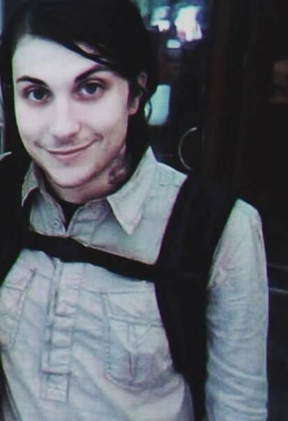 Hobbies include collecting and crying over pictures of Frank Iero