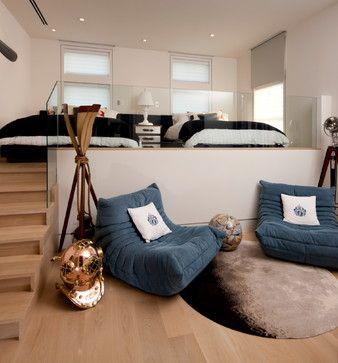 The Shores - contemporary - Bedroom - Other Metro - Michael G Imber, Architects