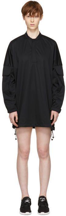 Cottweiler Black Utility Windbreaker Dress