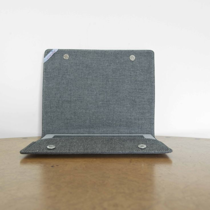 ipad case by 'white tales'. Made from natural Greek fabric and have embroideries inspired by Greek traditional costumes.
