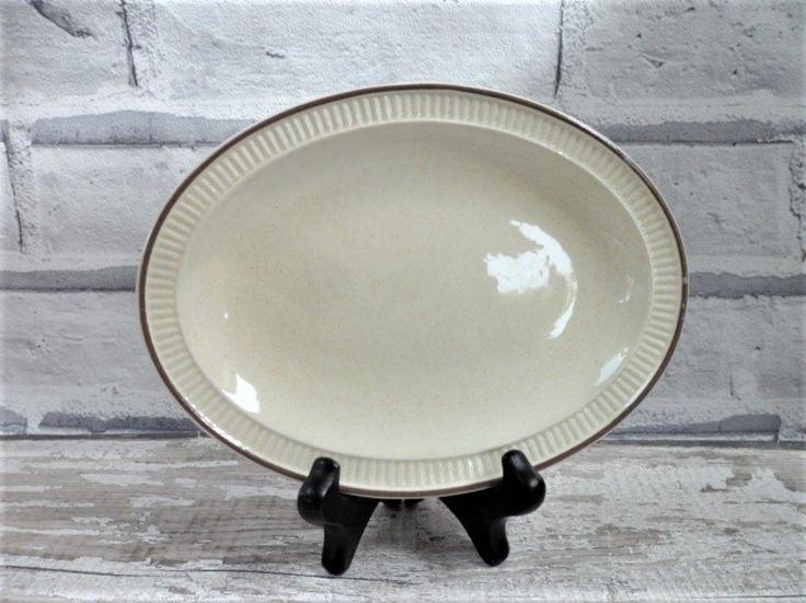 Poole Pottery Broadstone Gravy Boat Saucer Mid-Century Modern Tableware