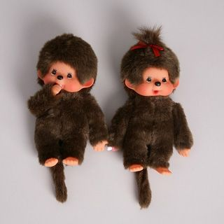 Monchichi Dolls -- I loved these x And I remember someone stole mine when I went to summer camp as a child.