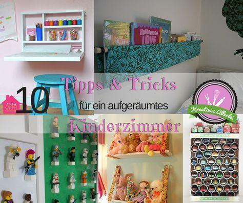 10 tipps tricks f r ein aufger umtes kinderzimmer basteln kinderzimmer kinder zimmer und. Black Bedroom Furniture Sets. Home Design Ideas