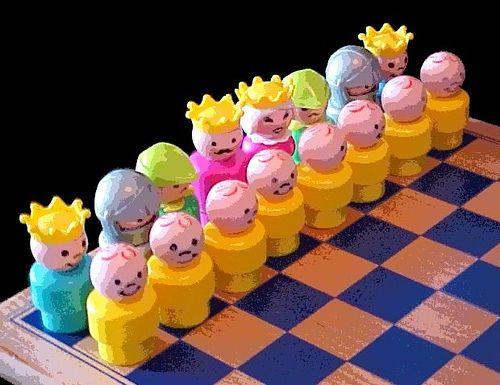 Little People Chess Set