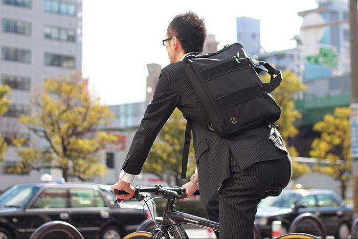 DOPPELGANGER®[ドッペルギャンガー]自転車ブランド 3WAYバイシクルビジネスバッグ DBM128-BK http://www.doppelganger.jp/option/dbm128_bk/ #doppelganger #bicycle #bag #cycle