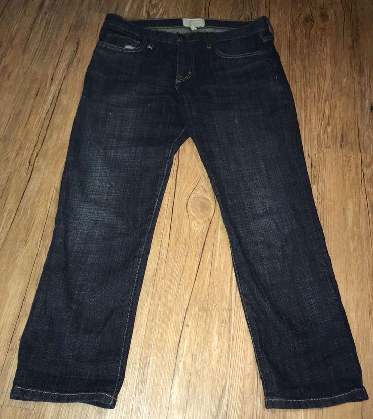 Current Elliot The Shale Boyfriend Dark Wash Jeans Women's Sz 26 #CurrentElliott #Boyfriend