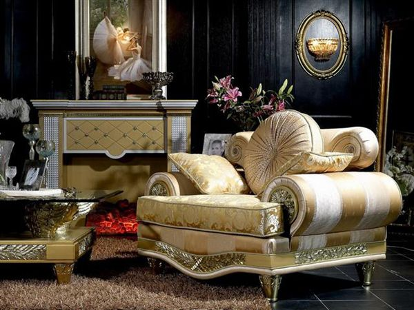 Luxury Living Room Furniture Noir Collection Wwwturriit Italian - italian living room sets