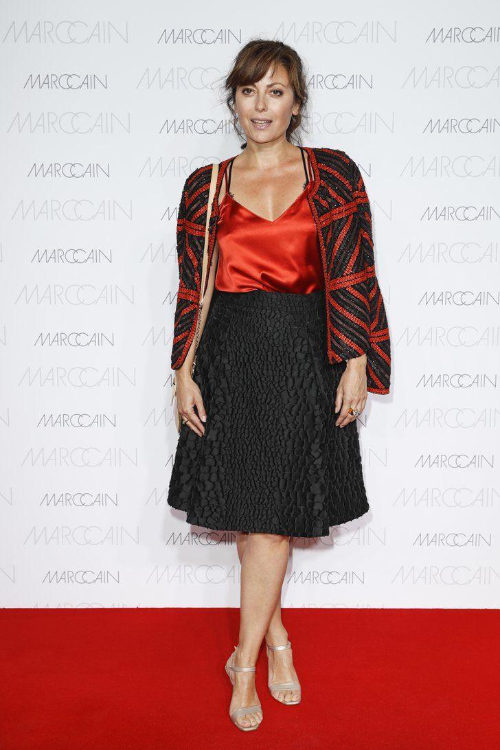 Pin for Later: Seht alle Stars bei der Berlin Fashion Week Carolina Vera bei der Modenschau von Marc Cain