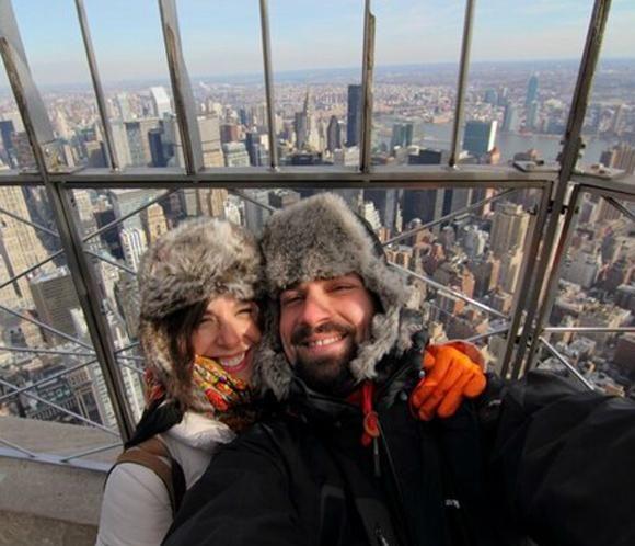 Raquel Sánchez Silva y Mario Biondo, romántica escapada a Nueva York #presentadoras #famosas #televisión