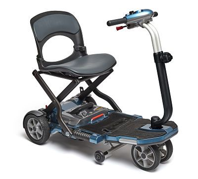 Scooter Eléctrico de Pequeñas Dimensiones #scooter #anciano #silladeruedas #accesibilidad #movilidad #ortopedia #salud #ortopediaparati