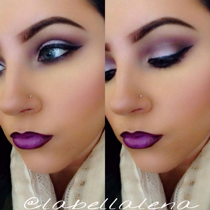 MAC Kitchmas pigment, Heroine lipstick. #mac #makeup INSTAGRAM: @labellalena