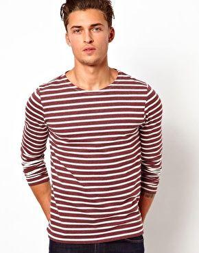 ASOS Stripe Long Sleeve T-Shirt $32.62