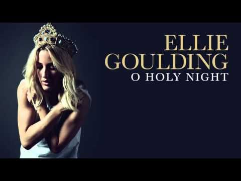 """Ellie Goulding - """"O Holy Night"""" Single Premiere - Listen to the angelic Ellie Goulding sing an absolutely perfect rendition of the Christmas classic """"O Holy Night"""" & get into the joyful spirit."""