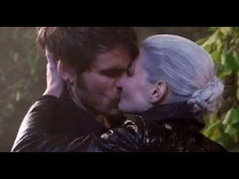 All Captain Swan Kisses through 05x11 - Swan Song - YouTube