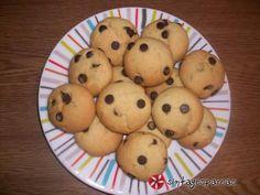 Νηστίσιμα μπισκότα πορτοκαλιού με σοκολάτα