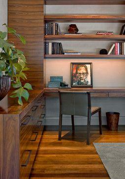 DMMA6 Lone Mountain Hillside - contemporary - Home Office - Phoenix - David Michael Miller Associates