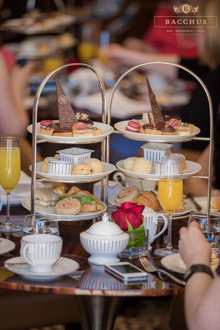 High Tea at Bacchus South Bank | South Bank Brisbane | Bacchus South Bank - Bar Restaurant Pool | High Tea | Food