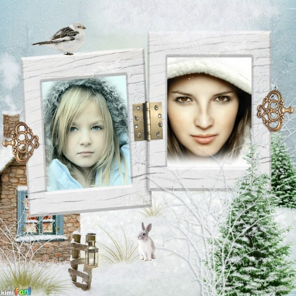 Winter Frames | Imikimi creations | Pinterest | Frame and Winter