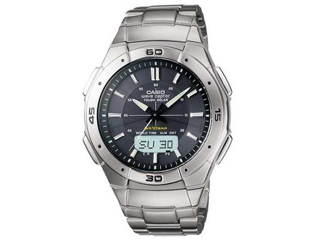 Casio Waveceptor Solar & Atomic Watch – the always accurate watch that never runs out of battery. GetdatGadget.com