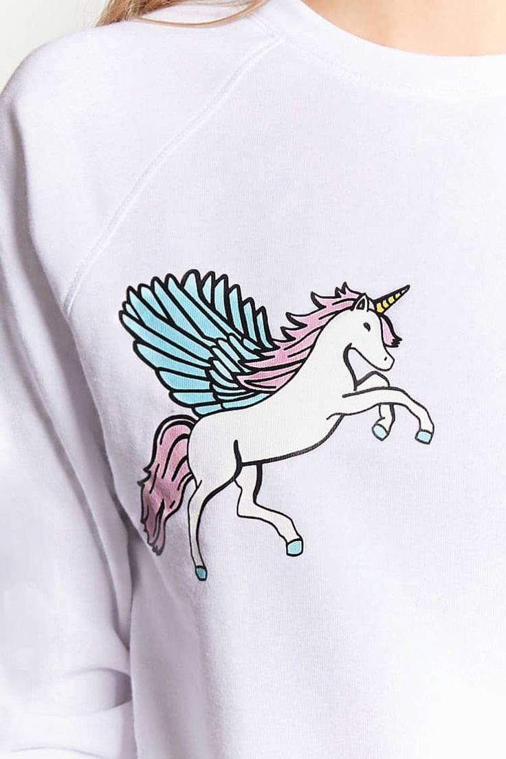 Unicorn Graphic Pyjama Sweatshirt
