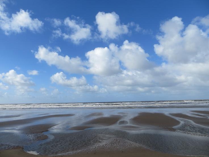 Formby beach, UK.