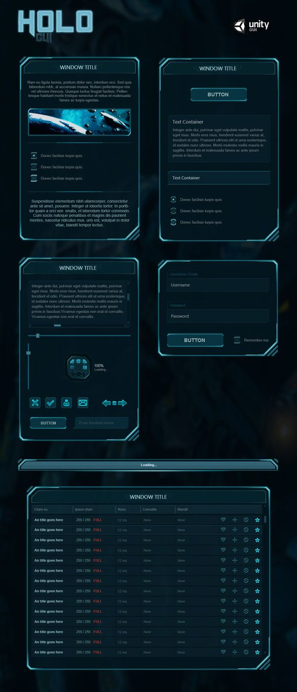 SciFi User Interface