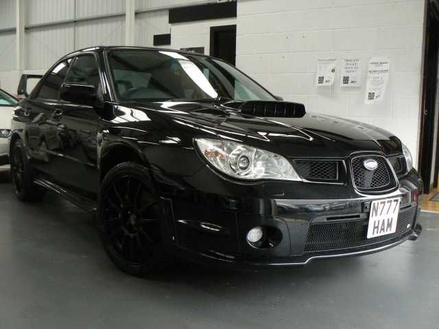 2007 Subaru Impreza 2.5 WRX 4-door saloon. Black. Prodrive pack. Service history. Click on pic shown for loads more.