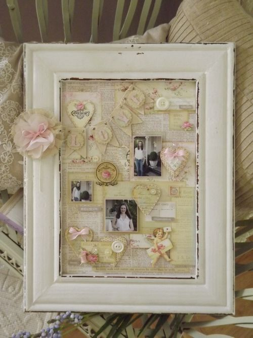 DIY Shabby Chic | DIY-SHABBY CHIC / DIY:: Shabby Wall Art