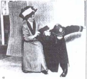 Edith Garrud, martial arts instructor and defender of Suffragettes; the tone is irreverent. the respect isn't.