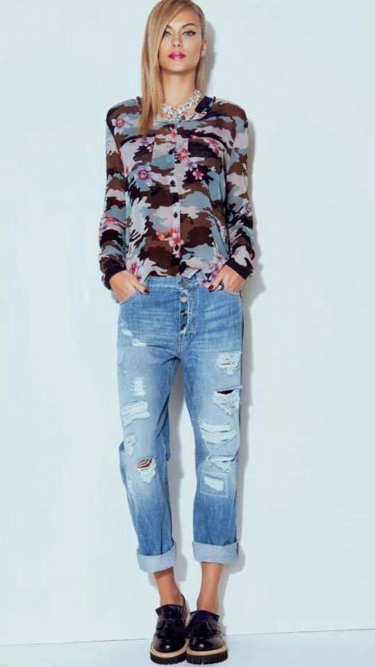 Blusa print floral denny- Visardi primavera 2015