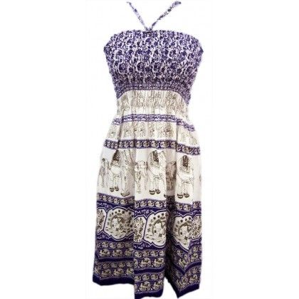 Naritva Multi Purpose Traditional Violet Dress