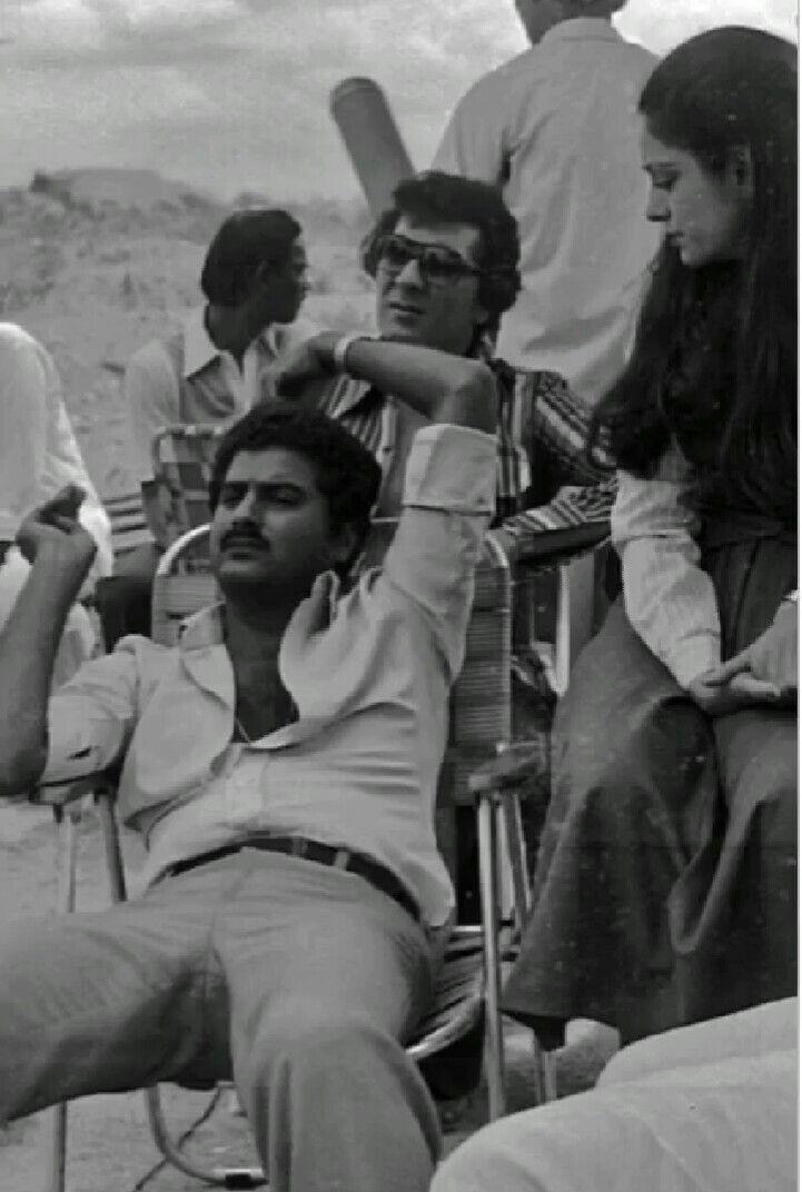 Boney Kapoor on set