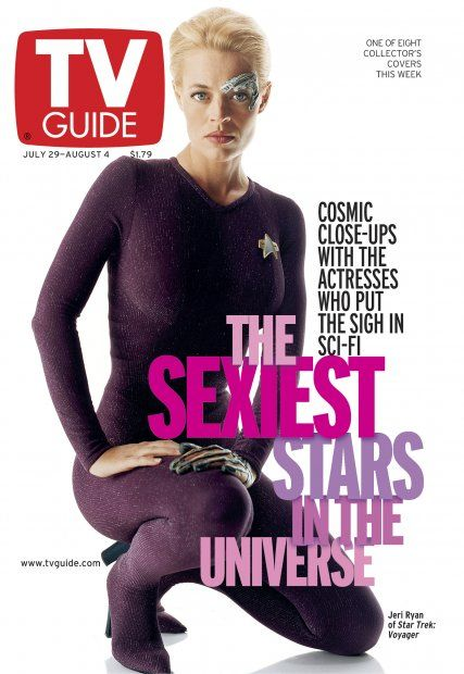 July 29, 2000 TV Guide Covers Sexiest Stars in Sci-Fi